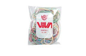 RUBBER BANDS MIX COLOURS 100gr